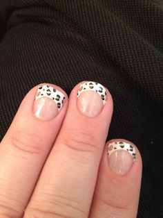 Dalmatian gel nails by yours truly