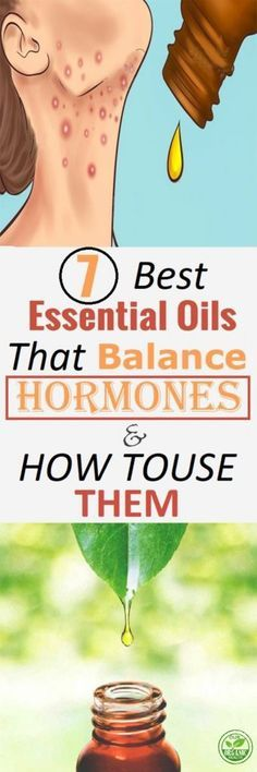 The 7 Best Essential Oils That Balance the Hormones (How to Use Them)
