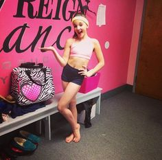 Kendall at dance