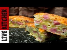 Hawaiian Pizza, Kitchen Living, The Best, Food And Drink, Eggs, Breakfast, Recipes, Youtube, Live