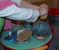 Table Scrubbing  http://toddlerguru.blogspot.com/#