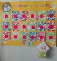 Easter countdown for kids Countdown For Kids, Easter Countdown, Diy Advent Calendar, 9 And 10, Happy Easter, Holiday Decor, Home Decor, Happy Easter Day, Homemade Home Decor