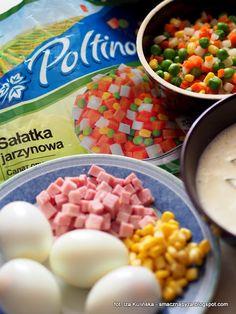 skladniki-na-kolorowa-galaretke-z-warzywami-i-jajkiem Amanda, Cereal, Breakfast, Egg As Food, Food Food, Recipies, Morning Coffee, Breakfast Cereal, Corn Flakes