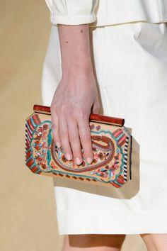 Spring 2017 Runway Report, Favorites #handbags #accessories #springfashion ; Oscar de la Renta