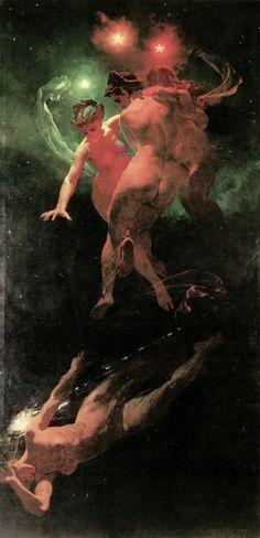 "Mihály Zichy, ""Падающая звезда"" (""Shooting Star"")"