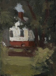 House and Tree, Edward Hopper from James Reinish & Associates, Inc. Edward Hopper, American Realism, American Artists, Pop Art, Art For Art Sake, Painting & Drawing, House Painting, Paintings For Sale, Impressionism