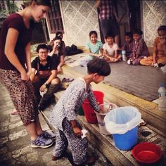 Teaching basic #life skills in #India. #Volunteer abroad with #projectsabroad. #like #photooftheday #Asia website link in profile.
