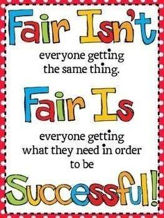 Fairness amp Justice On Pinterest Equality Differentiation And