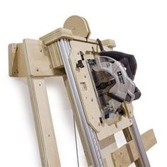 "Deluxe Panel Saw Kit - Wall Mount Version - Build your own panel saw accurate to 1/32"". Cut wood and plastic sheet goods quickly, accurately, and safely."