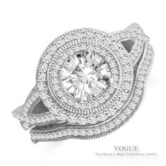 Feel like a princess with this Captivating 14K White Gold Diamond Engagement Ring with mesmerizing accent diamonds.