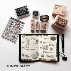 "374 Likes, 5 Comments - Rumi (Rumi's diary) (@rumisdiary) on Instagram: ""2017/02/21 my TN passport → week 4 / January 23-29 #travelersnotebook #travelersnote…"""