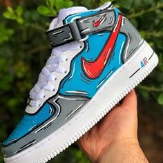 Behind The Scenes By clearcustomz Sneakers Mode, Custom Sneakers, Sneakers Fashion, Jordan Sneakers, Custom Painted Shoes, Custom Shoes, Zapatillas Nike Jordan, Nike Shoes Air Force, Jordan Shoes Girls