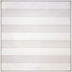 Agnes Martin's retrospective at the Tate Modern in London presents the artist's abstract paintings and experimental artistic style (Agnes Martin, Tate Modern, Tate, London, Abstract Painting) Artistic Visions, Agnes Martin, Barnett Newman, Frank Stella, Alberto Giacometti, Wallpaper Magazine, Action Painting, Abstract Painters, Abstract Art