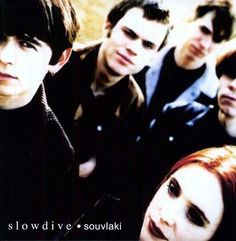 SLOWDIVE - SOUVLAKI-Sealed-New Record on Vinyl Track Listing - Alison - Machine Gun - 40 Days - Sing - Here She Comes - Souvlaki Space Station - When The Sun Hits - Altogether - Melon Yellow - Dagger