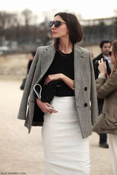 Black And White Preppy Style Outfits Ideas 25 Fashion Mode, Work Fashion, Fashion Outfits, Fashion Trends, Office Fashion, Corporate Fashion Office Chic, Style Fashion, Corporate Style, Blazer Fashion