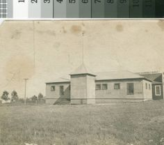 """The """"Old Tin Schoolhouse"""" (San Bruno Park School), ca. 1906-1910  Check out UpNest.com"""