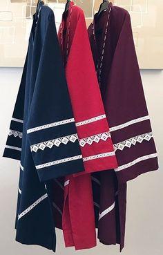 Simple Pakistani Dresses, Pakistani Fashion Casual, Pakistani Dress Design, Stylish Dress Designs, Stylish Dresses, Casual Dresses, Casual Frocks, Sleeves Designs For Dresses, Dress Neck Designs