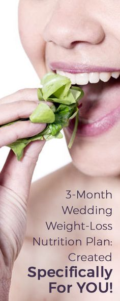 You have your wedding in three months and you still have weight to lose to fit perfectly in your wedding dress. Let us help you fell confident, beautiful, and strong on your big day!  Find more health, nutrition, and fitness information at fitinyourdressbrides.com
