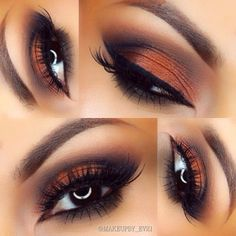 Makeup by @makeupby_ev21 - Visit www.magnetlook.com/photos for more Fashion & Beauty Photos