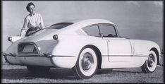 Five years prior to the October, 1959, introduction of the Corvair that would become the Motor Trend magazine Car of the Year for 1960, Chevrolet produced a 'Corvair' show car for display at the 1954 Motorama.    Earlier, in January of 1953, the first Corvette show car was introduced to the public at Motorama, in New York City. It was such a hit with the public that it was put into production only 6 months later, in June, 1953.