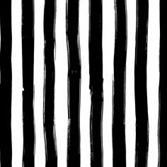 Image of Wide Stripes in black Wide Stripes, Cotton Canvas, Hair Accessories, Black And White, Fabric, Prints, Image, Beauty, Textiles