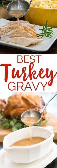 This is the perfect turkey gravy recipe, my go to for Thanksgiving dinner! Advertisements This is the perfect turkey gravy recipe, my go to for Thanksgiving dinner! Turkey Recipes, Fall Recipes, Holiday Recipes, Dinner Recipes, Best Turkey Recipe, Holiday Foods, Dinner Menu, Christmas Desserts, Pumpkin Recipes