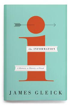 The Information cover designed by Oliver Munday for Pantheon; art direction by Peter Mendelsund