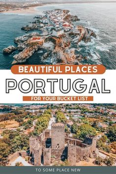 Portugal Destinations, Portugal Places To Visit, Portugal Vacation, Hotels Portugal, Portugal Travel Guide, Top Travel Destinations, Europe Travel Guide, Travel Guides, Day Trips From Lisbon