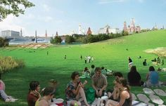 A Wilderness in the City: How Diller Scofidio + Renfro's Zaryadye Park Could Help Fix Moscow
