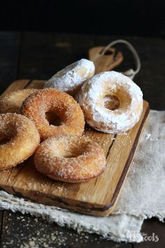 Churro Donuts   Bake to the roots