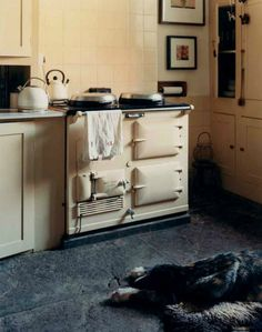 cream kitchen