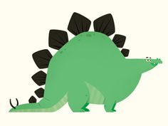 dino by eva galesloot...maybe he could be my Thesaurus Rex to eat boring words :)