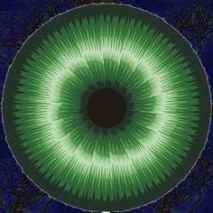 Super cool!! Eye/iris cane! Nice tutorial. Augencane....polymer/fimo clay