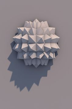 I saved this pin for form. I feel like this picture is showing abstract/geometric form. It's using triangles and shapes, but isn't representing an object. Elements Of Design Form, Visual Elements Of Art, Elements And Principles, Form Design, 3d Design, Geometric Origami, Geometric Form, Geometric Designs, Modular Origami