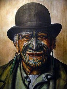 Wellington – New Zealand – The National Tattoo Museum Goldie Maori Tattoos, Leg Tattoos, Tattoos For Guys, Borneo Tattoos, Ohm Tattoo, Biker Tattoos, Tattoo Skin, Face Tattoos, Skull Tattoos