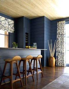 16 Kitchens With Wooden Bar Stools You Need To See