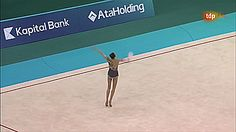 Viktoria Mazur, Ball, European Championships Baku 2014