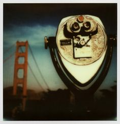 https://flic.kr/p/ek8jNP | Golden Gate View | Golden Gate Bridge, San Francisco, California  Impossible Project Instant Lab print from an iPad mini Instagram (original image taken with Contax G1 & Kodak Royal Gold 25 film)