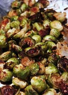 Best Ever Balsamic Brussels Sprouts: