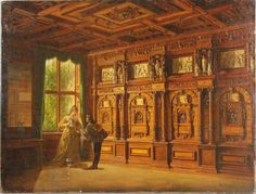 Stay up to date with Heinrich Anton Heger (German, 1832 - . Discover works for sale, auction results, market data, news and exhibitions on MutualArt. Anton, X 23, Fine Woodworking, Art Auction, Interiores Design, View Image, Palazzo, Danish, Oil On Canvas
