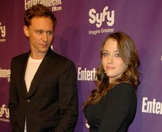 Tom Hiddleston and Kat Dennings attend the EW and SyFy party during Comic-Con 2010 at Hotel Solamar on July 24, 2010 in San Diego, California [HQ]