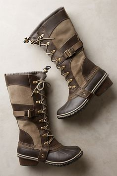 Sorel Conquest Carly Boots by Sorel #anthroregistry