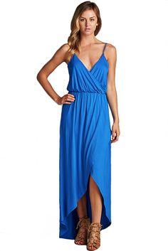 Where the Wind Blows Royal Blue Maxi Dress | Blue maxi dresses ...