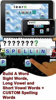 Build a Word Express - free spelling app Repinned by Apraxia Kids Learning. Come join us on Facebook at Apraxia Kids Learning Activities and Support- Parent Led Group.