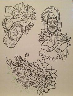 Call of duty tattoo designs
