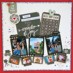 Best Day Ever by Lisa Saunders www.scrappyfairies.blogpsot.co.uk
