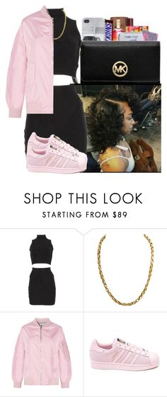 """"""""""" by xtiairax ❤ liked on Polyvore featuring adidas"""