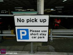 This is for all taxi drivers - there is an area which is not designated for pick ups and drop offs at Gatwick Airport North Terminal. #taxi#gatwick#airport