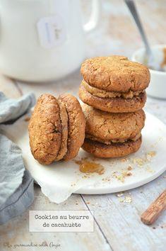 cookies à l'avoine Cookies Sans Gluten, Biscuits, Vegan, Fodmap, Tea Time, Cookie Recipes, Peanut Butter, Veggies, Cooking