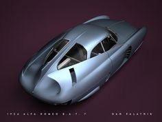 A Garagem Digital de Dan Palatnik | The Digital Garage Project: 1954 Alfa Romeo BAT 7